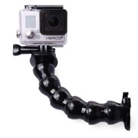 Action –kameran parhaan kaverin taivutettavan tuen avulla saat kiinnitettyä kameran helposti aina pyörästä, skeittilautaan tai vaikka keinuun.
