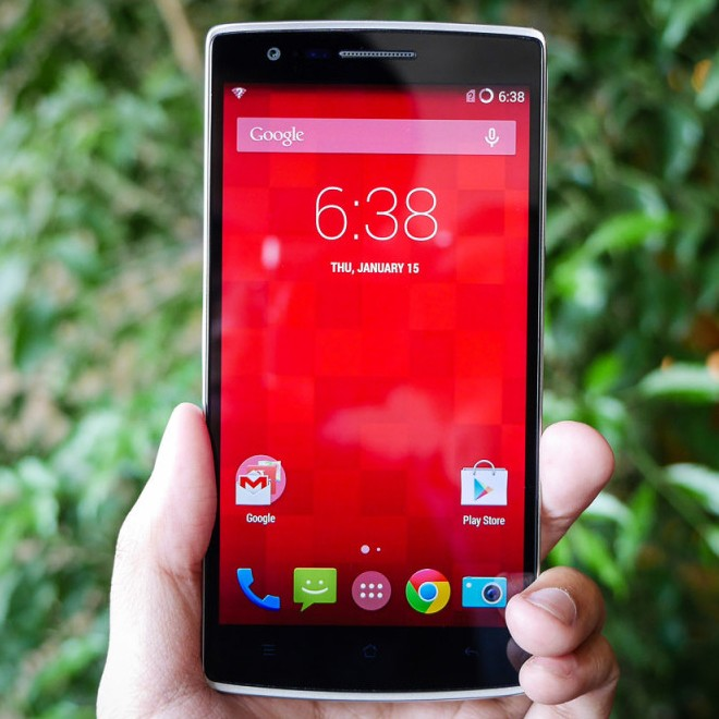 "OnePlus One 5,5"" 4G smarttelefon"