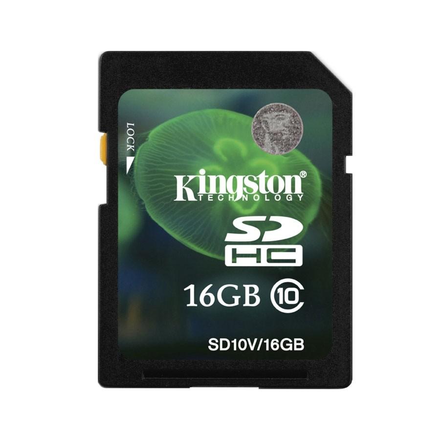 Kingston SDHC 16G minneskort Class 10