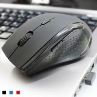 AA-paristosta virtansa saava optinen hiiri on äärettömän helppo ottaa käyttöön. Kytke vain vastaanotin tietokoneeseesi ja hetkessä hiiri on käyttövalmis.