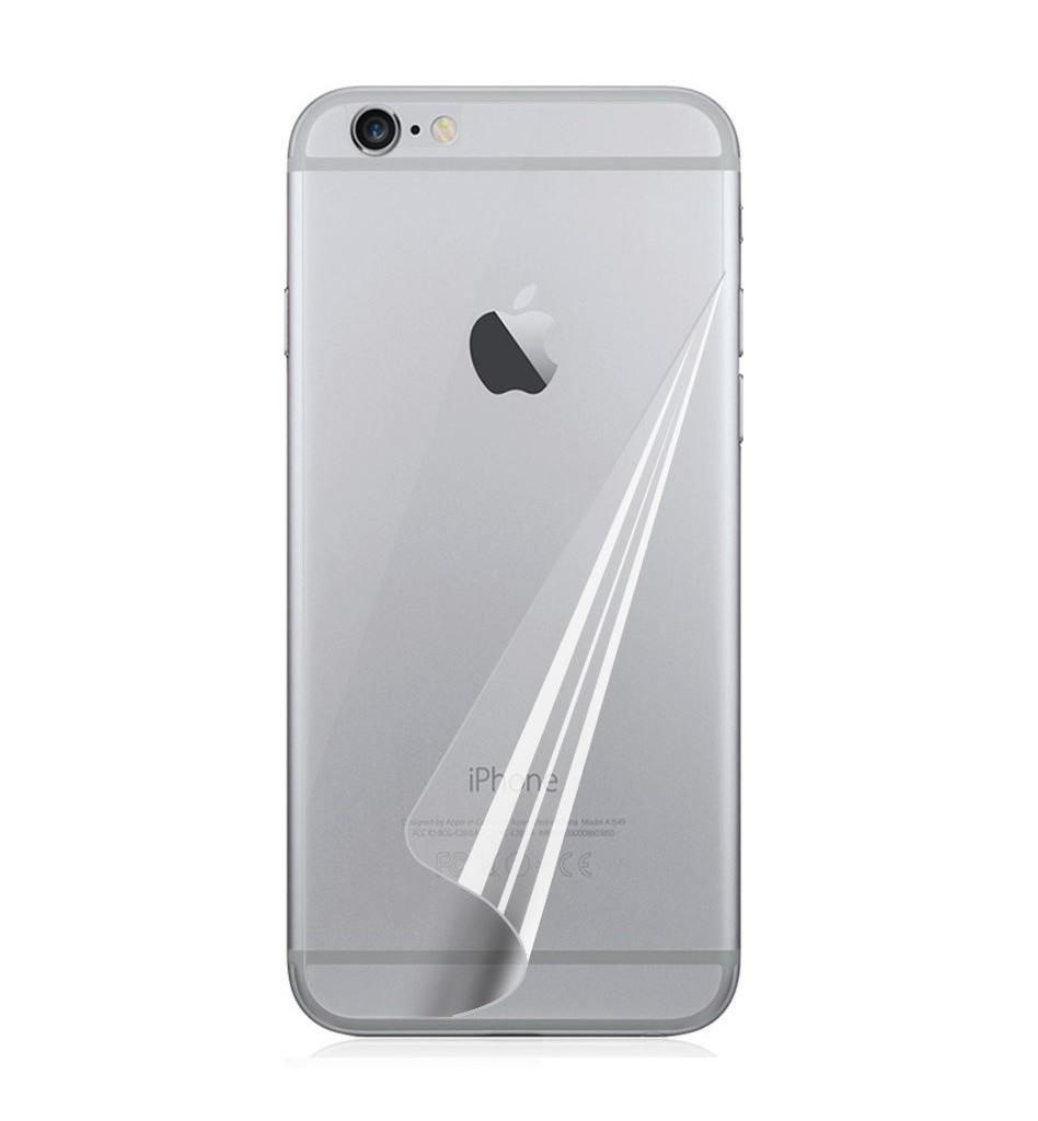 iPhone 6+ kirkas suojakalvo kääntöpuolelle
