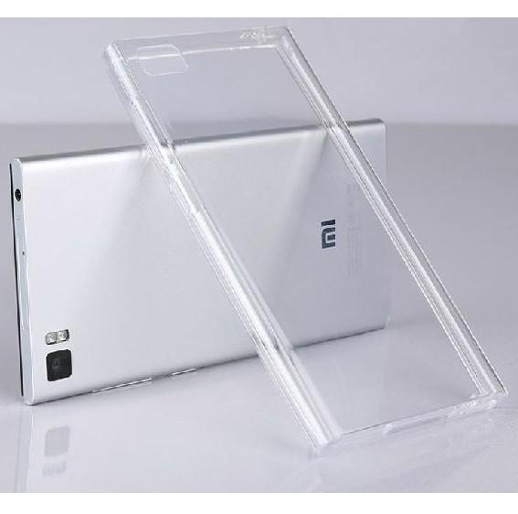 Xiaomi Mi3 Genomskinligt fodral