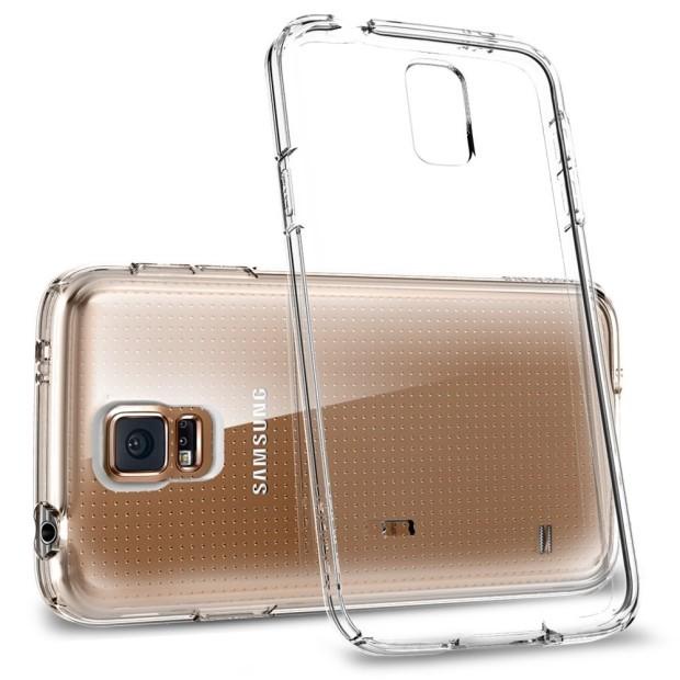 Samsung Galaxy S5 läpinäkyvä suojakuori