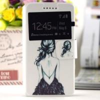 Tyylikäs flip cover -suojakuori Samsung Galaxy Trend Plus -älypuhelimelle. Kuoressa on kaunis ja persoonallinen kuva. Lisäksi kätevästä ikkunasta näet yhdellä vilkaisulla kellon tai onko sinulle tullut uusia viestejä.
