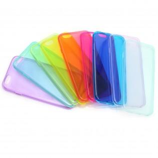 iPhone 6 Värikäs suojakuori - Vaaleansininen