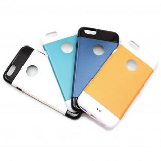 iPhone 6 Kaksivärinen suojakuori - Musta&Valkoinen