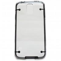 Genomskinligt Skal till Samsung S5 mobiltelefoner. Skyddar din Samsung från repor och stötar. Tillverkat av lätt och hållbar plast.