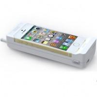 Retro-tyylinen kuori antaa iPhoneesi rennon lookin. Kuori suojaa ja lataa puhelintasi samalla.10000mAh:ista riittää latauskertoja ja kuoren pohjassa on USB-ulostulo, joka mahdollistaa kahden puhelimen latauksen samaan aikaan.