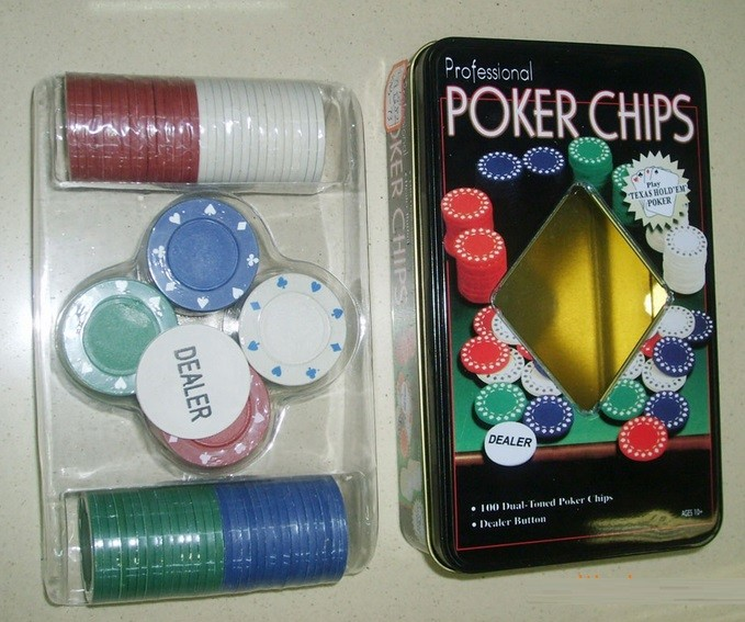 Poker chips 100st