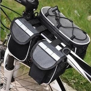 Multifunktionell cykelväska