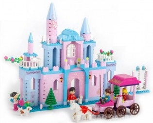 Rakennussarja Prinsessa 580 osaa