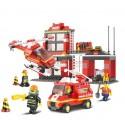 Byggklossar -brandstationen 371 delar