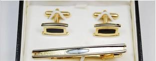 Slips-pin och manchettknappar box