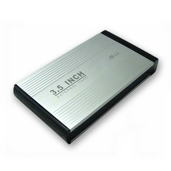 """3,5"""" Hard Disk Enclosure IDE +EU Adapter"""