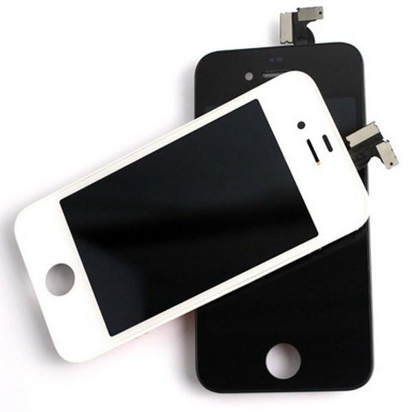 IPhone 4 LCD-näyttö kosketuspaneeli - Musta - MacPiste