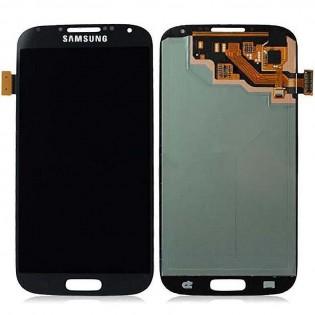Samsung S4 LCD-näyttö ja kosketuspaneeli - Musta