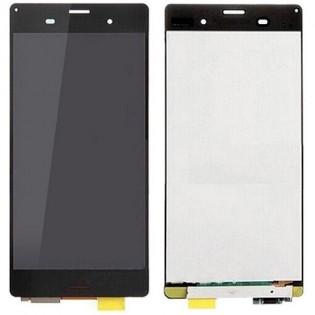 Sony Z3 LCD-näyttö ja kosketuspaneeli - Musta