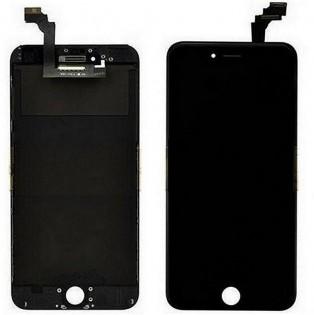 LCD-näyttö ja kosketuspaneeli iPhone 6+:lle - Musta