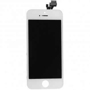 LCD-näyttö ja kosketuspaneeli iPhone 5C:lle - Musta