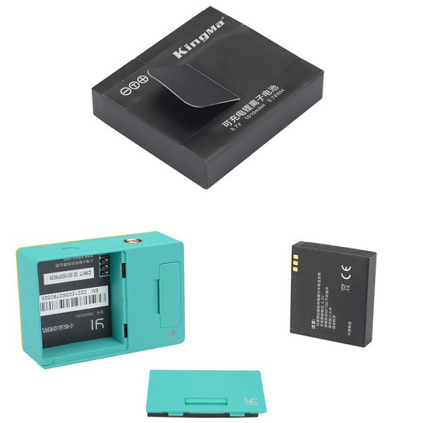 Xiaomi Yi Actionkamera extra batteri