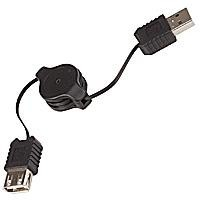 Cable USB Extendible Rebobinable