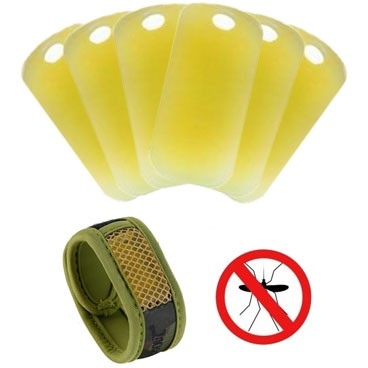 Doftdynor till myggarmband 6-pack