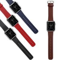Hieno, uusi Apple Watch ranteessasi kertoo, että haluat erottua joukosta. Vaihtamalla tämän värikkään nahkaisen rannekkeen kelloosi, erotut varmasti muista iWatchin kantajista! Osta samalla monta ranneketta sopimaan päivän vaatetukseen!
