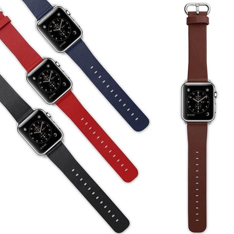 Nahkainen ranneke Apple Watchille
