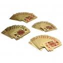 Guldpläterade spelkort