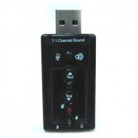 USB Sound card adapter 7.1CH