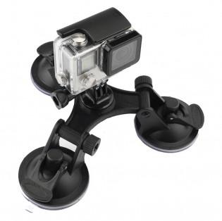 Action-kameran säädettävä imukuppikiinnitys