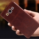 Samsung A5 Higer nahkainen flip cover -suojakuori