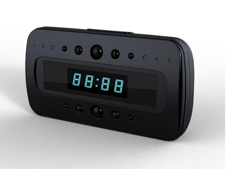 Mini spion-väckarklocka