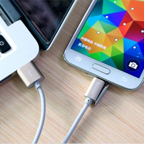 Ophion Resiter 2.1A nopea USB-lataus/datakaapeli