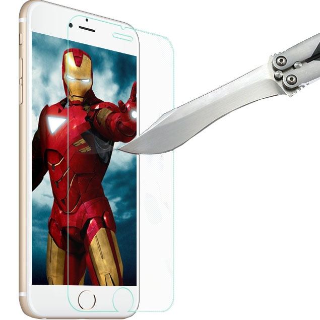 iPhone 6 Plus displayskydd av härdat glas