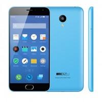 """Meizu m2 har en 5,0"""" HD-skärm, två 4G SIM-kortplatser och en högkvalitativ 13Mp kamera baktill samt 5Mp fram. Telefonen är mycket kompakt, och den väger bara 131 gram."""