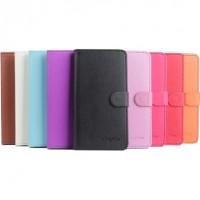 TaittuvaValencia 2 -älypuhelimen suojakotelo toimii myös lompakkona ja puhelintelineenä! Suojakotelon läppä kiinnittyy magneetilla ja läpässä on taskut tärkeimmille korteille.