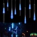 Sininen LED-pisaravalo 8 x 30cm
