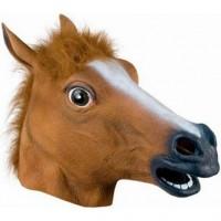 No nyt on aika hevostella! Ilmiömäinen hevosnaamari on oiva väline hassutteluun ja hauskanpitoon! Hevosen pää -naamio sopii erinomaisesti esimerkiksi vapun, halloweenin, naamiaisten tai polttareiden juhlintaan.