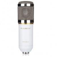 Floureonin korkeatasoinen kondensaattorimikrofoni on suunniteltu erityisesti studiotasoista äänitystä varten. Tällä mikrofonilla nauhoitat erittäin korkeatasoista ääntä jossa myös alaäänet tulevat esiin puhtaasti.