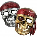 Piratdödsskallen -ansiktsmask
