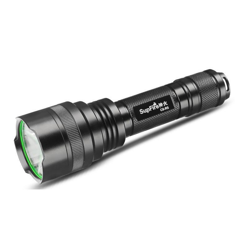 Supfire C8 LED-taskulamppu 300-900lm