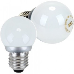 2x FSL 3W LED-polttimo E27