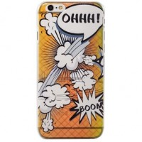Ohh! Tästä räjähtävää tyyliä iPhone 6s puhelimen suojaksi. BOOM!