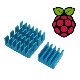 Raspberry Pi lämpöpalikka 2kpl