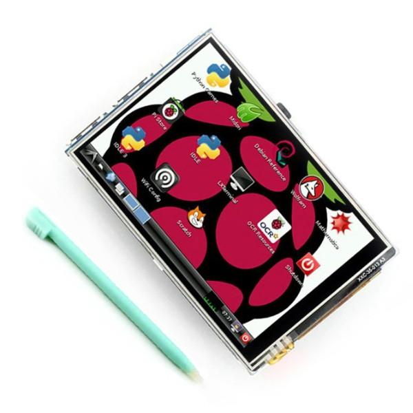 "Raspberry Pi kosketusnäyttö 3.5"""