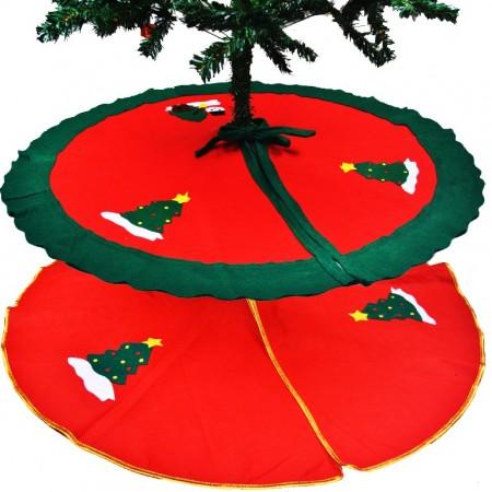 Joulukuusen alusmatto - Kulta