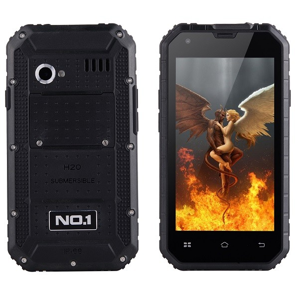 NO.1 M2 Stötsäker och vattentät IP68-klassad Android 5.0 -smartphone