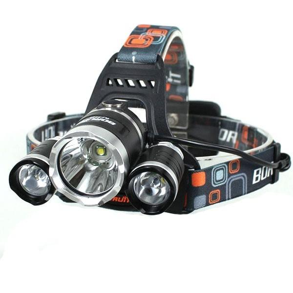 Boruit 3X CREE LED pannlampa 1200lm