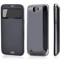 Samsung Note 2 flipcover med batteri 2900mAh